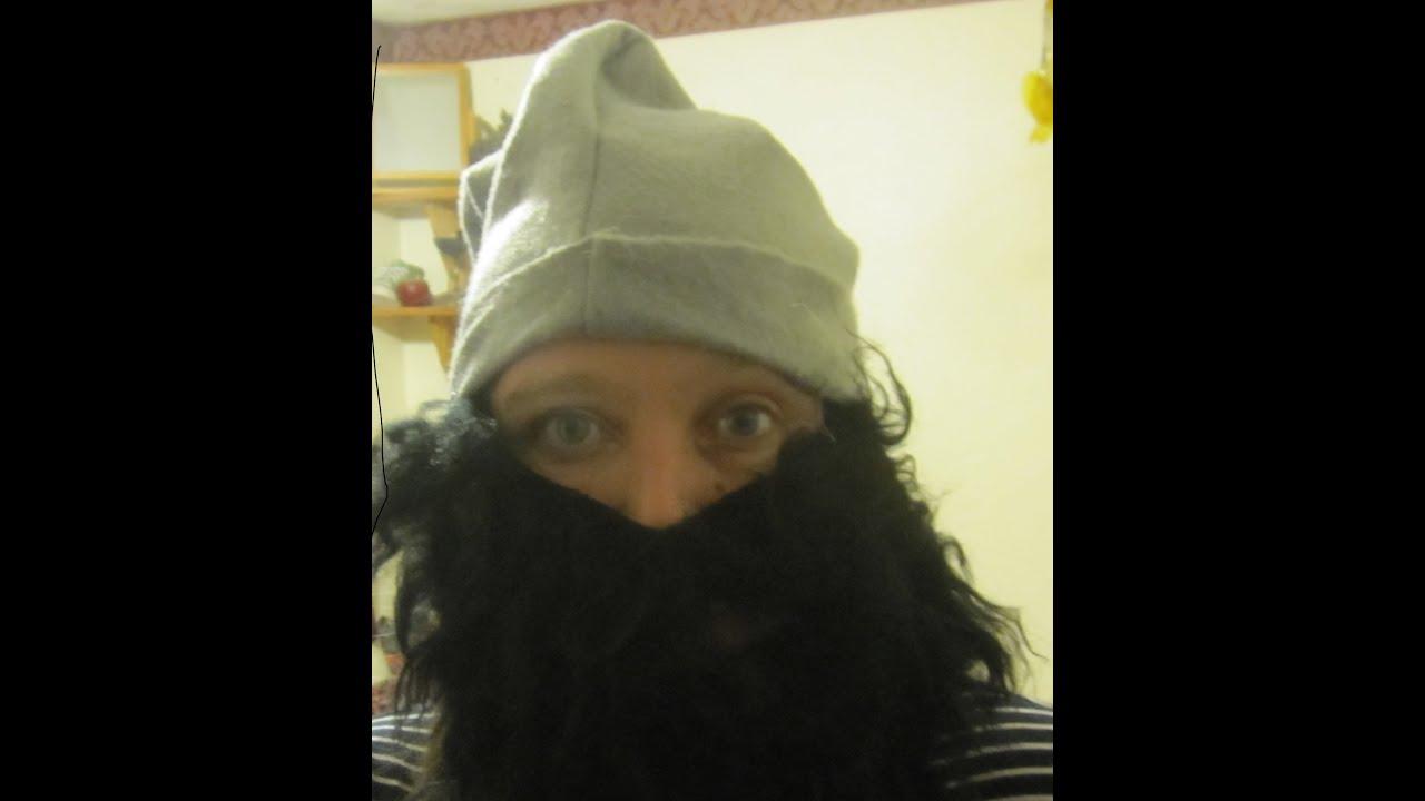 Dwarf hat with beard - YouTube 9dcf7b838ed1
