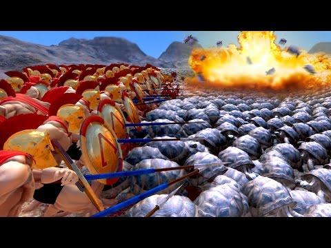 SUPER TORTOISE ARMY!!! | Ultimate Epic Battle Simulator HD