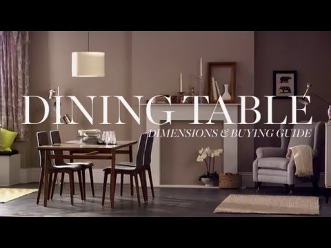 M&S Home: Dining Table Dimensions & Buying Guide