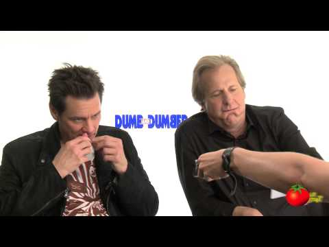 Jim Carrey & Jeff Daniels Imitate Kathleen Turner in Dumb and Dumber To