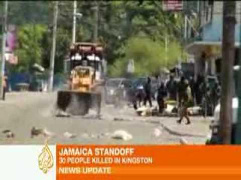 Hunt for drug kingpin sparks Jamaica unrest