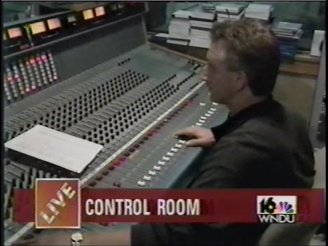 WNDU TV Behind Scenes Live Newscast September 25, 1997