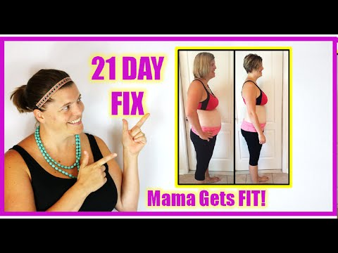 21 Day Fix Results Before and After - This MAMA Gets FIT with 21 Day Fix and Shakeology