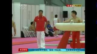 Chinese Olympic Gymnasts Injured During Training At The Critical Moment