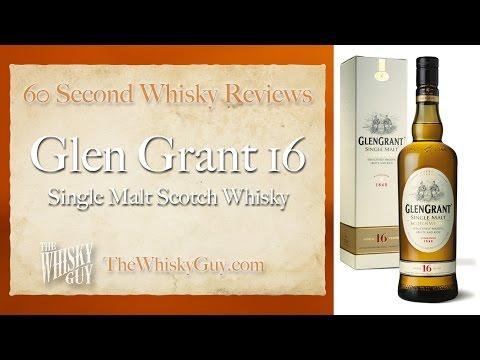 Glen Grant 16 Single Malt Scotch Whisky - 60 Second Whisky Reviews #016