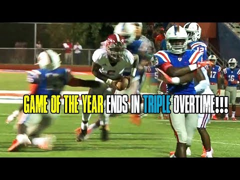FOOTBALL GAME OF THE YEAR!! TRINITY VS EAST SAINT LOUIS GOES