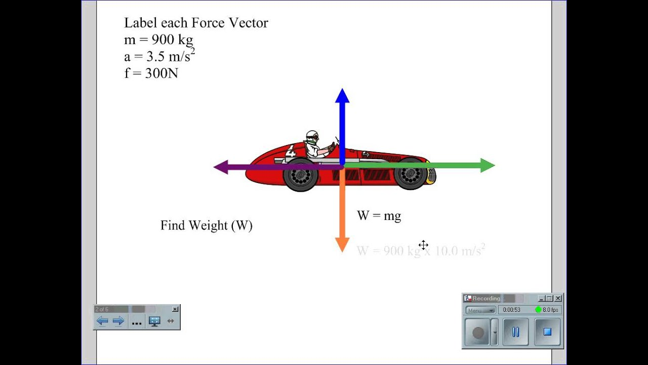force vector diagram calculations central locking wiring golf 4 fbd car youtube
