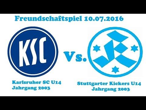 Karlsruher SC U14 0-4 Stuttgarter Kickers U14