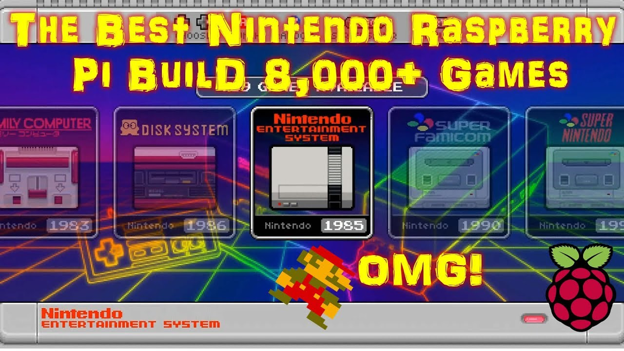 The Best Nintendo Pi Build Ever 8,000+ Games (Not Clickbait)