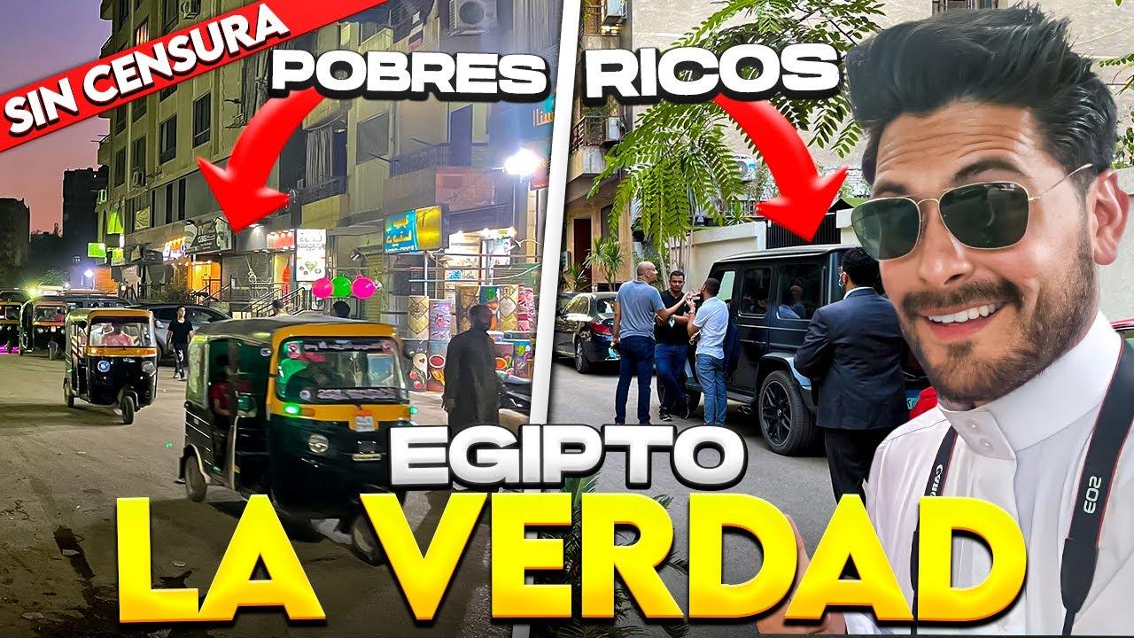 ASÍ es el EGIPTO de RICOS y POBRES | NO ES LO QUE IMAGINAS - Gabriel Herrera