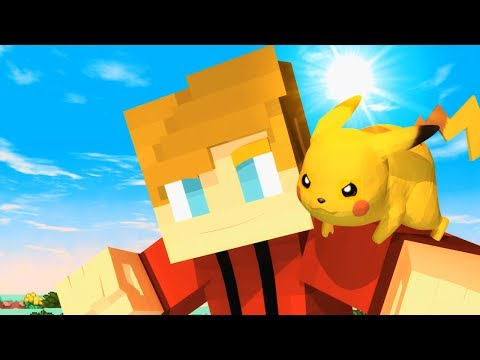 ♪ Minecraft Pokemon Song (Pixelmon) - Minecraft Song of The First Pokemon Movie (Parody)