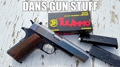 Tula 45 Ammo Review - Steel Jacketed Bullets