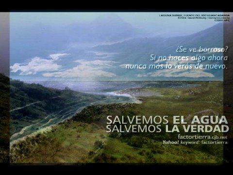 Canción al Agua: - Sergio Mullo -