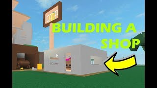 BUILDING A SHOP! *24,000* Roblox Lumber Tycoon 2
