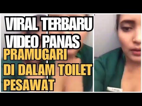 VIRAL VIDEO MESUM PRAMUGARI CANTIK DI DALAM TOILET PESAWAT