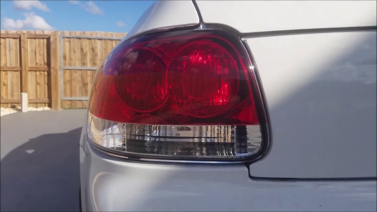 honda del sol 1993-1997 brake light mod