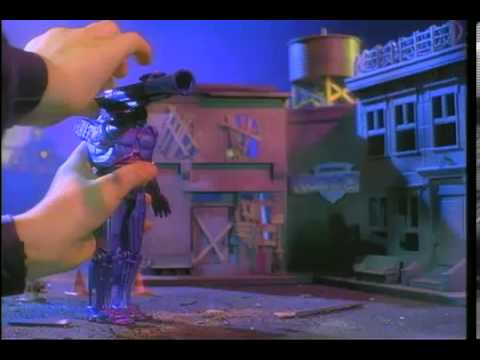Robocop Action Figure Talk Tv Toy Commercial Tv Spot Tv Ad 1993 Youtube