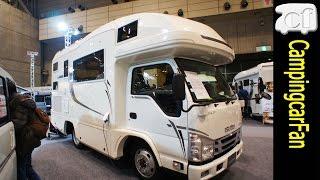 【ジル520クルーズ】新しくなったスタンダードキャブコンの定番モデル Japanese camping car Motorhome thumbnail