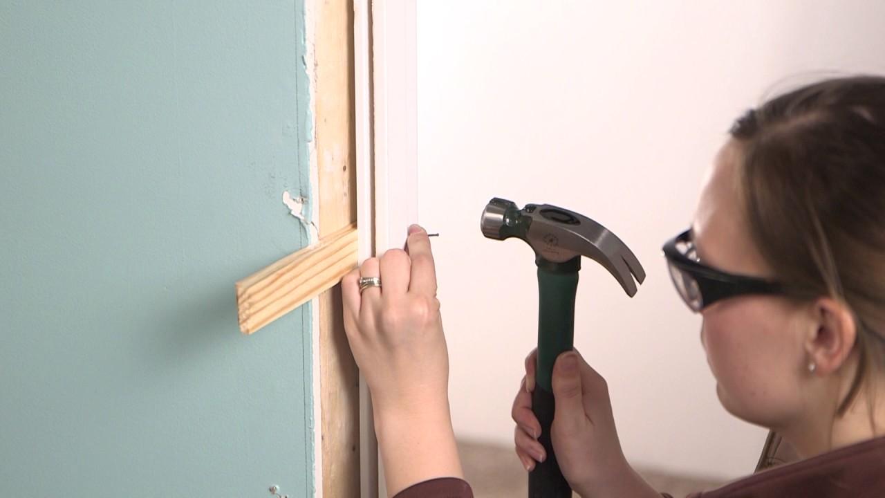 Installing An Interior Single Door With Split Jamb Youtube