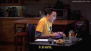 The Big Bang Theory 4x06 - Escondiendo A Prya De Sheldon