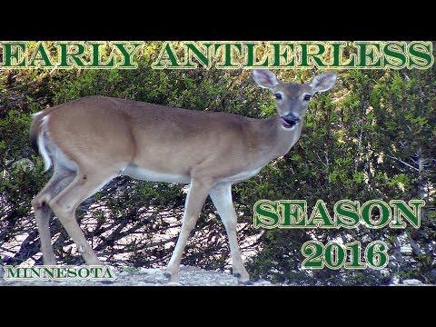 2016 MN EARLY Antlerless Season