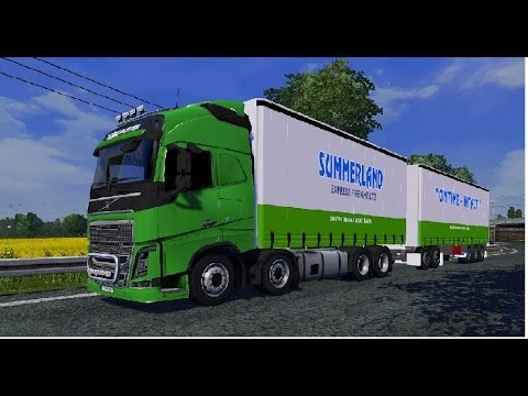 Ets2 Cambridge To Metz Volvo Fh16 8x4 Nz Setup Youtube