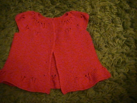 Hervorragend gilet top down sans manche au tricot pour fille 1 partie - YouTube IS97