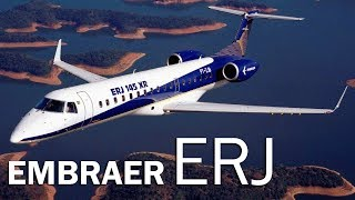 Embraer ERJ - dance with the industry. The story of the first regional Embraer jet