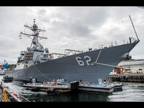 Navy approach to fix crippled destroyer USS Fitzgerald, as investigation continues