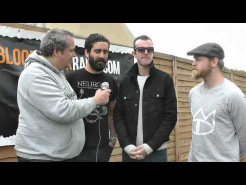 Karnivool interview with Catbird (Bloodstock Radio) @Download 2013