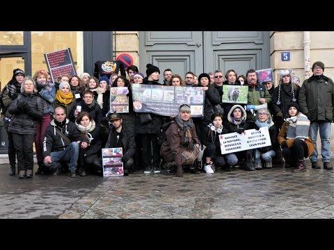 Action anti-fourrure SMCP - Paris 10 février 2018