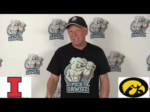 Iowa vs Illinois 11/23/19 Free College Football Pick and Prediction Week 13 CFB Tips