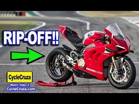 Why New Ducati Panigale V4R is a RIPOFF and OVERHYPED