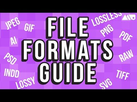 Image File Formats for Design Explained