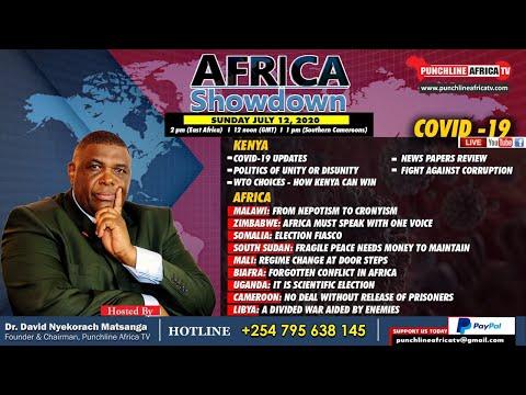 AFRICA SHOWDOWN: KENYA, MALAWI, ZIMBABWE, SOMALIA, SOUTH SUD