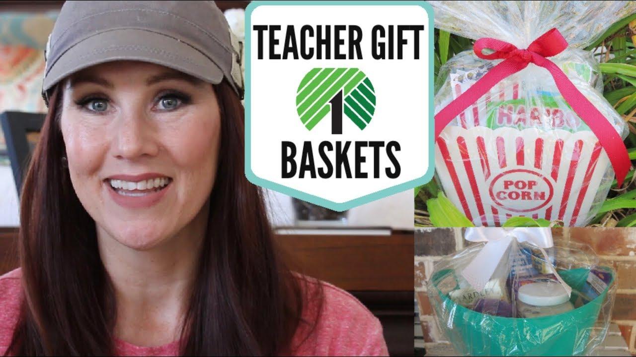 Dollar Tree Teacher Gift Basket Ideas Under 10