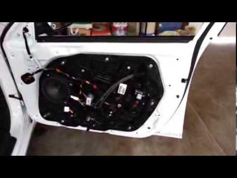 2013 Kia Optima Metal Door Frame Removed Plastic Door