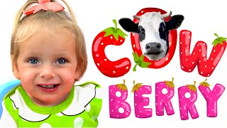 Kids Song - Berries | Nursery Rhymes by Maya and Mary