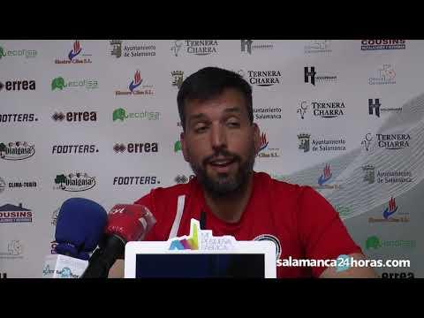 Entrevista postpartido Hernan Pérez | Unionistas de Salamanca 3 - 1 Valladolid Promesas