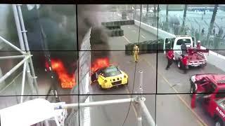 Federico Sceriffo  Crash Fire Drift Car (Ferrari 599  Formula Drift 2018)