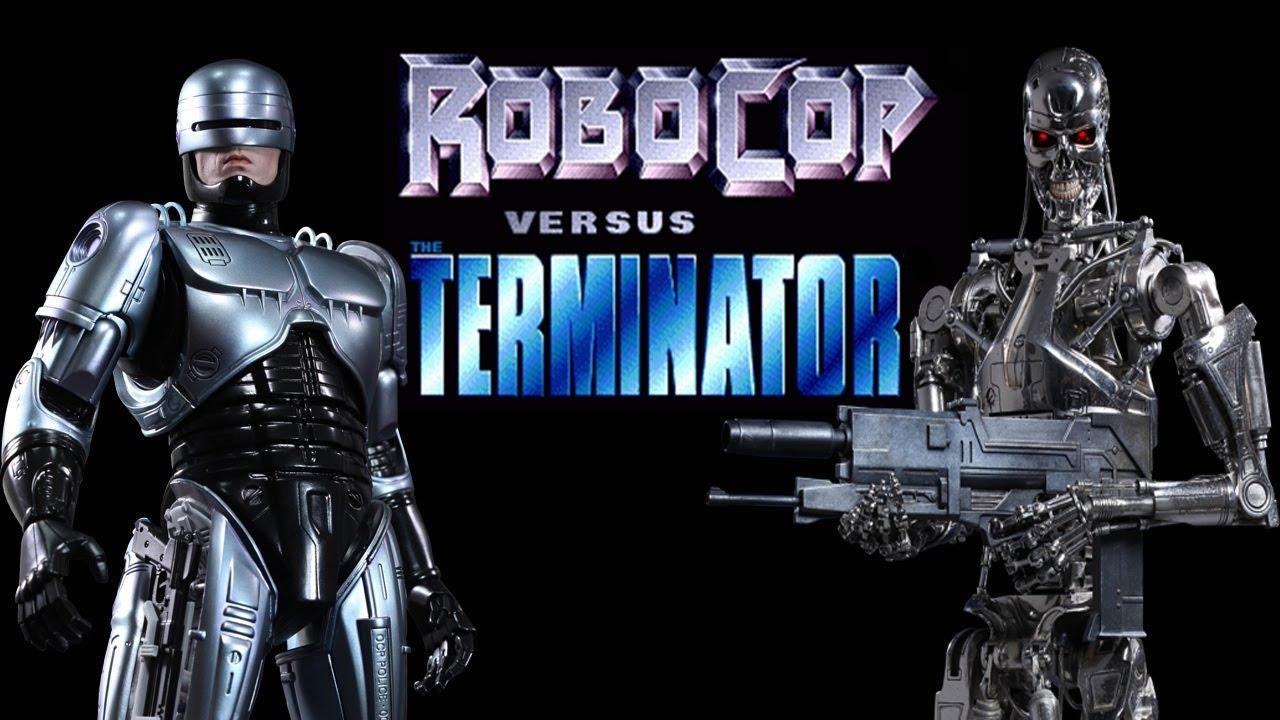 Robocop against terminator 3