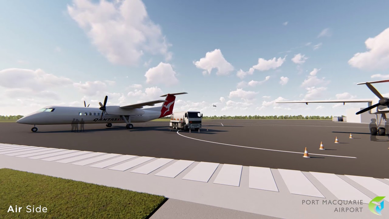 A new look for Port Macquarie Airport's Terminal Building