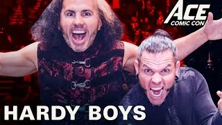 WWE Panel - The Hardy Boyz | 2017 ACE Comic Con Long Island