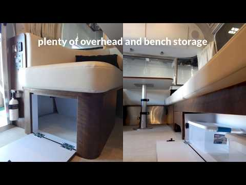 Tour the New 2018 Airstream Globetrotter 27FBQ - Copenhagen Cream