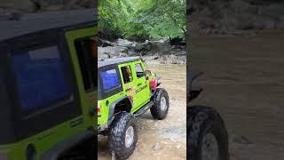 #shorts SCX10 II Jeep Rubicon