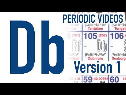 Video image: Dubnium - Periodic Table of Videos