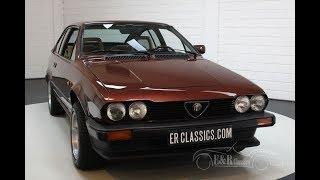 Alfa Romeo Alfetta GTV 2.0 1986 -VIDEO- www.ERclassics.com