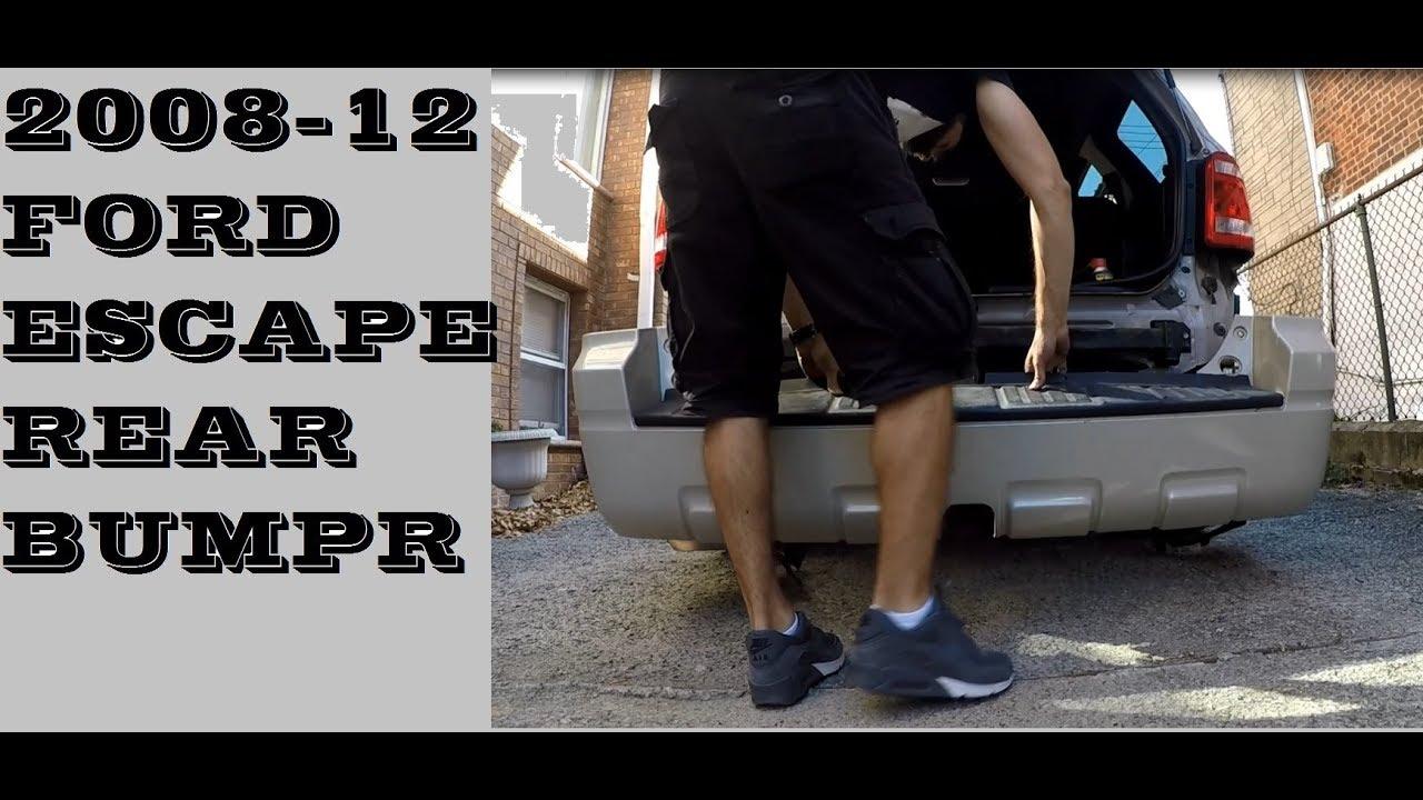 How To Remove Rear Bumper 2008 2012 Ford Escape
