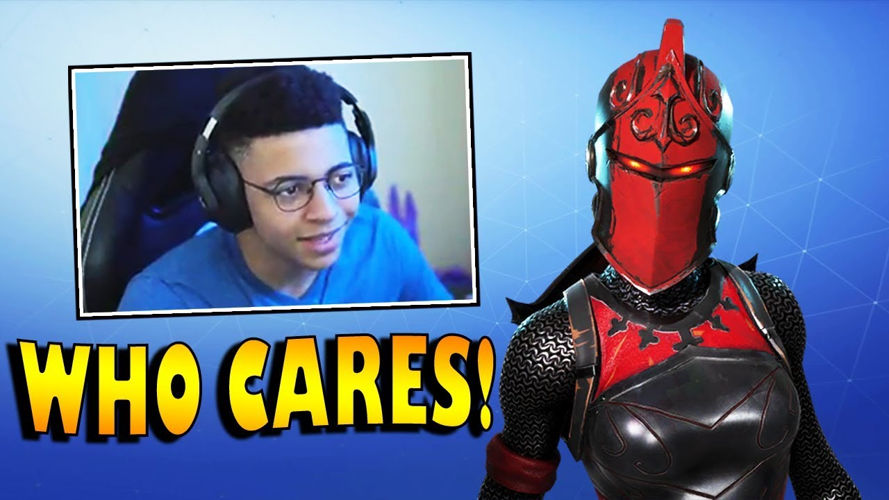 Myth Reacts To The Red Knight Skin Coming Back Fortnite