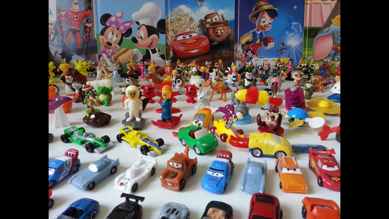 Kinder Surprise 300 Toys Large Collection Youtube